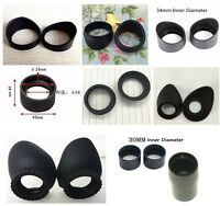 A pair Eyepiece Eye Shield Rubber Eye Guards Eye Cups for Microscope Telescope