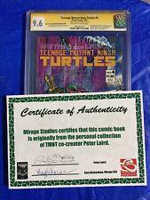 Teenage Mutant Ninja Turtles #4 Mirage CGC SS 9.6 Manufacturing Error #4 Signed