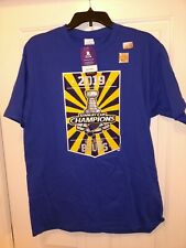 NWT NHL Stanley Cup 2019 Champion St Louis Blues Hockey T-shirt Men's Large Blue