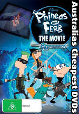 Phineas And Ferb The Movie DVD NEW, FREE POSTAGE WITHIN AUSTRALIA REGION 4