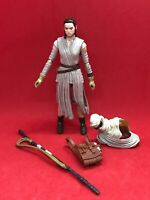 "Star Wars TBS The Black Series 3.75"" Rey (Jakku) Loose Complete"