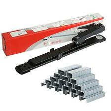 More details for long arm 25 sheets boxed high-quality stapler plus free 3000 binding stapler uk