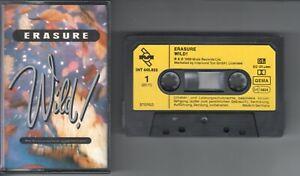 Erasure    MC / Tape / Kassette  WILD !   ©  1989