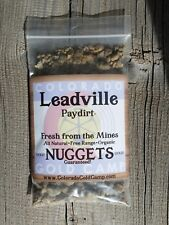 LEADVILLE PAYDIRT COLORADO GOLD *The REAL DEAL*