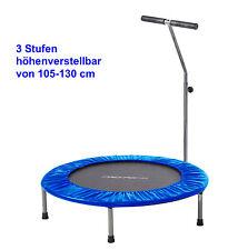 Fitness mini cama elástica con barra de sujeción, 100 CM, carga: 100 kg