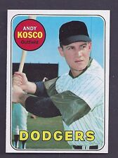 1969 Topps #139 Andy Kosco Los Angeles Dodgers NM-MT