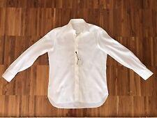 NEW! Marol Bologna Shirt, 39 [Borrelli, Isaia, Barba, Kiton]