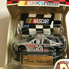 NEW NASCAR 2002 Kevin Harvick #29 Dated Silver Xmas Collectible Ornament Trevco