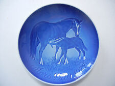 B & G-madre tag piatto 1972 immagine: cavallo (la mia POS-N. 1972-1)