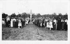Little Falls Minnesota Crucifix Congregation Real Photo Antique Postcard K59984