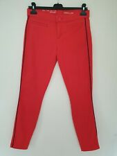 Ladies Cotton Red GAP Trousers Size 6