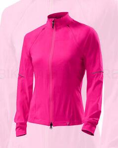 Specialized Women's Deflect Hybrid Cycling Jacket Neon Pink - Medium