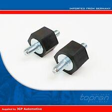 2X Fuel Pump Engine Cover Rubber Mounts M6 VW Mk2 Golf Audi SEAT Skoda 191201256
