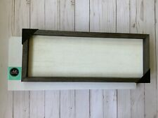 "Chalk Couture Box Frame 6 1//2 "" x 18 1//2"" ~NEW~"