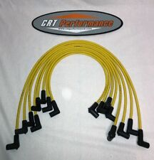 SBC CHEVY 265-305-327-350-400 YELLOW HEI Spark Plug Wire Set - Over Valve Cover