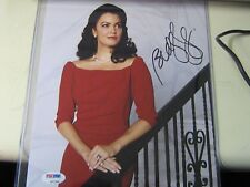PSA DNA CARD AND STICKER  AUTOGRAPHED Bellamy Young Signed Photo Scandal