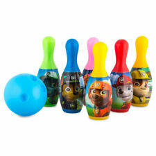 Children's Nickelodeon Paw Patrol Bowling Play set Pins and Ball Kids 2+ New