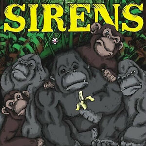 """Sirens / Overstand - Split 7"""" WITH HONOR REACH THE SKY"""