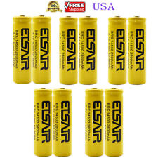 10pcs 14500 3.7V 2800mAh Protected Rechargeable Li-ion 14500 Batteries USA