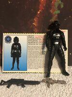 "Kenner Star Wars Action Figure POTF 3.75"" Tie Fighter Pilot"
