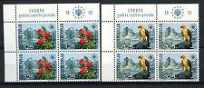 Yugoslavia 1970 1444-5 Nature Conservation MNH Blocks Set Cat £70 #A62720