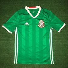 Youth ADIDAS Climacool Green Mexico Soccer Jersey Shirt Size - L