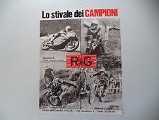 advertising Pubblicità 1975 RG e OSSA 350 TRIAL TOSCO/BRISSONI/ALESSANDRO GRITTI