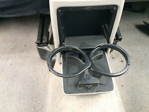 2003-2008 Subaru Forester Center Console Rear Cup Holder Gray
