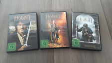 3 DVDs Der Hobbit Eine unerwartete Reise Smaugs Einöde Die Schlacht der 5 Heere