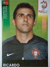 Panini 104 Ricardo Portugal UEFA Euro 2008 Austria - Switzerland