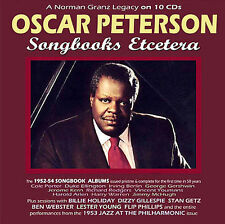 NEW Oscar Peterson: Songbooks Etcetera- A Norman Granz Legacy (Audio CD)
