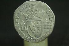 HENRI III;TESTON;1575B,ROUEN/:LA38