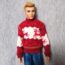 "Handmade doll clothes ELK sweater for 12"" Ken dolls"
