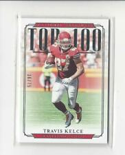 2018 Panini National Treasures Top 100 Collection #44 Travis Kelce Chiefs /75
