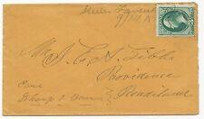 US 19TH CENTURY COVER Steeles Tavern, VA Augusta Co. 1883