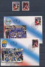 XC45952 Yugoslavia 2001 sports basketball maxicards used