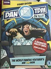 Dan TDM *SIGNED* On Tour DVD *SEALED* Limited Edition Dantdm Minecraft