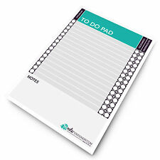Monster Things to Do Today A5 To Do Pad Daily Desk Planner Schedule Organiser