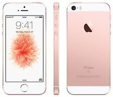Original Apple iPhone SE 64 GO Or Rose iOS 9 12MP débloqué Smartphone Par FedEx