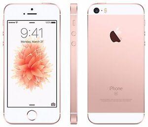 Original Apple iPhone SE 64GB Rose Gold iOS 9 12MP Unlocked Phone USA FREESHIP