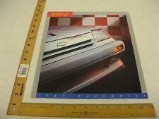 1987 87 Chevrolet Chevy Sprint Sales Brochure Literature Catalog 16 Pages