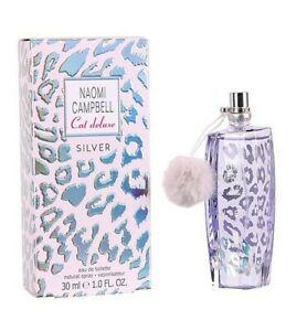 Naomi Campbell Cat Deluxe Silver Edt Eau de Toilette Spray 30ml NEU/OVP
