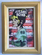 Portrait BRIGITTE BARDOT Street Art POP ART