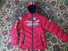 NORGE MEN'S RED SWIX SKI JUMPING NORWAY TEAM JACKET  SIZE:SMALL (S)