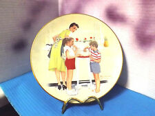 """Mother's Helpers"" Norman Rockwell American Family Series 1979 Collector Plate"