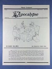 Harry Lorayne's Apocalypse - Richard Vollmer - Trucchi di Magia - 1994 Vol.17