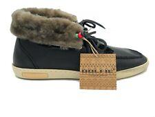 Scarpe Dolfie Louis 1 Nere Uomo Donna sneakers Black Leather Casual Eleganti