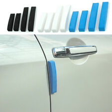 4pcs New Car Door Edge Guards Trim Molding Protection Strip Scratch Protector