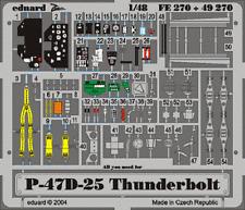 Eduard Zoom FE270 1/48 Republic P-47D-25 Thunderbolt Hasegawa