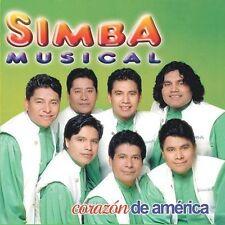 Audio CD Corazon De America - Simba Musical - Free Shipping